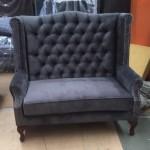 black-doted-twin-lounge